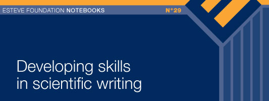 Developing skills in scientific writing
